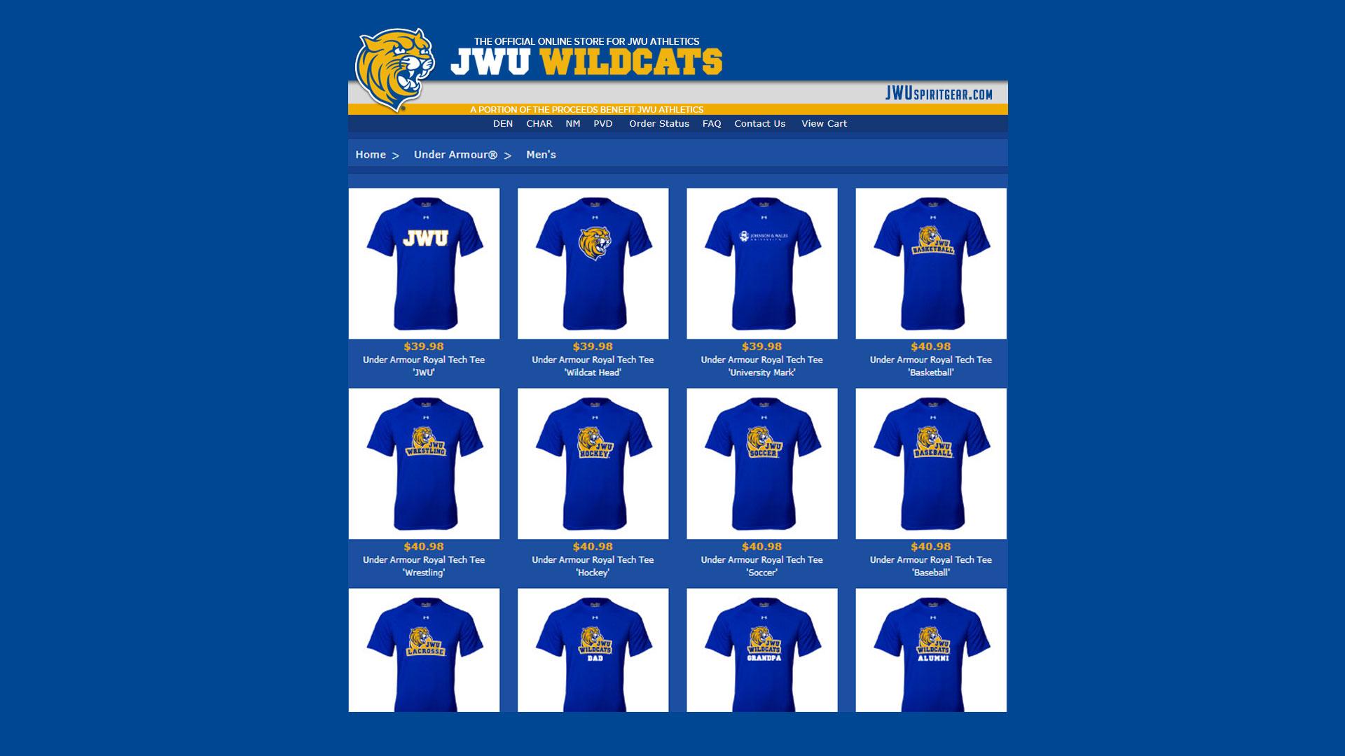 JWU Spirit store