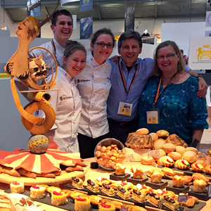 Chef Peemoeller at the IBA Bakers Cup