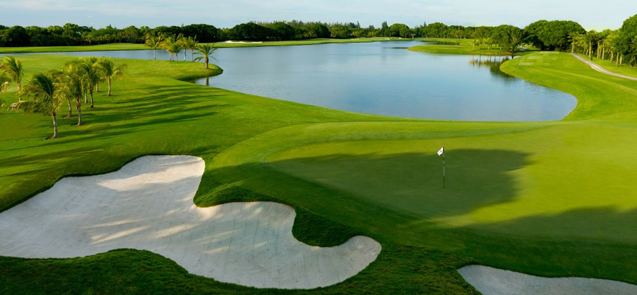 Golf is a year-round sport in Florida.