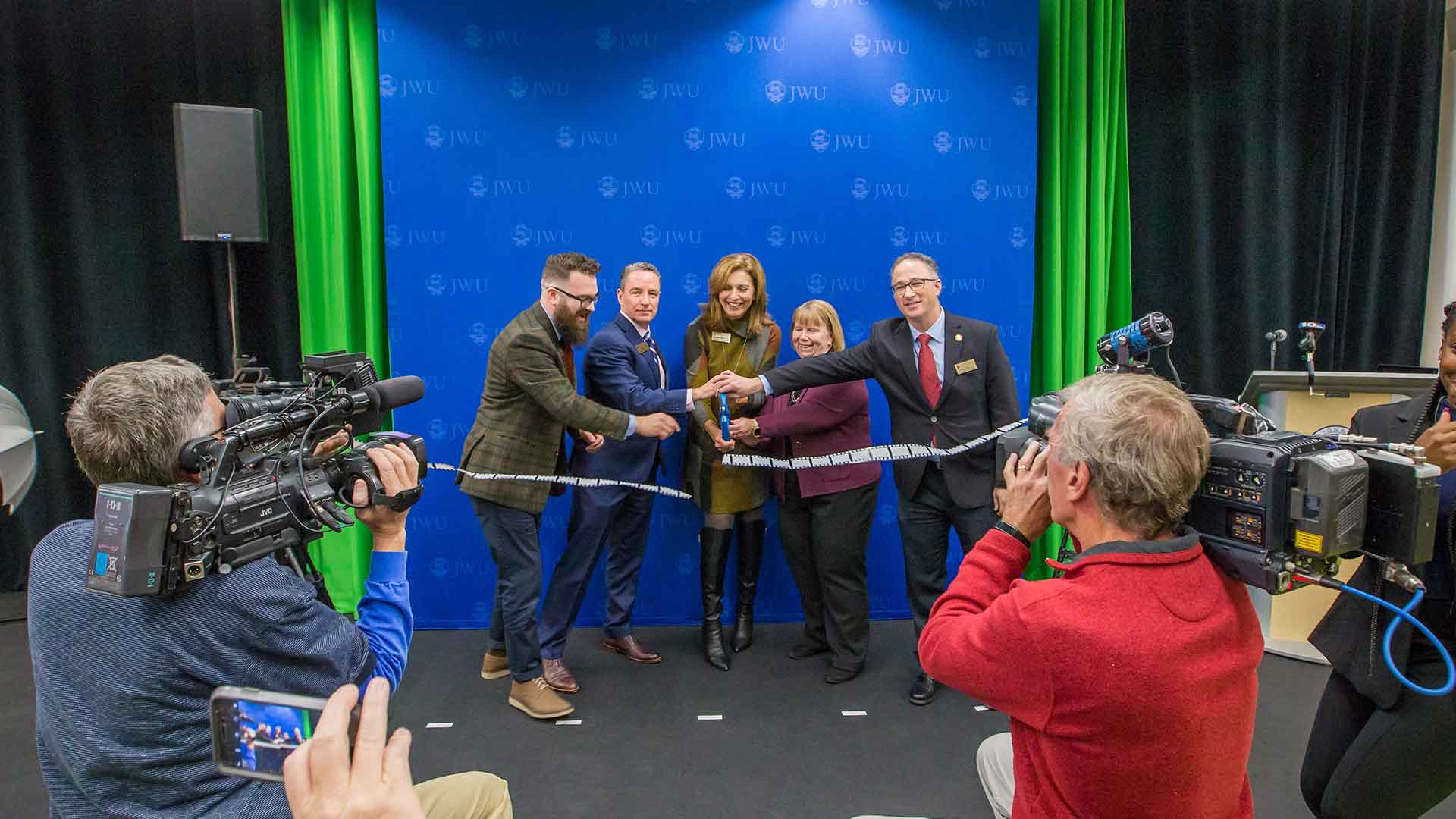 JWU Providence opened the Center for Media Production in October 2019