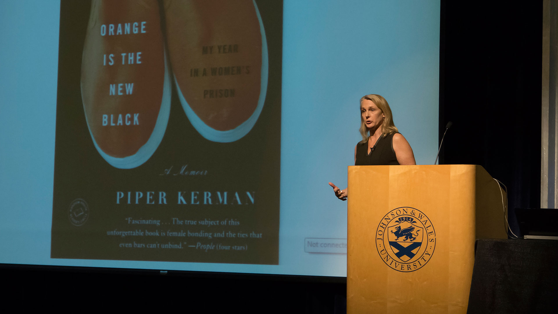 Piper Kerman visits JWU