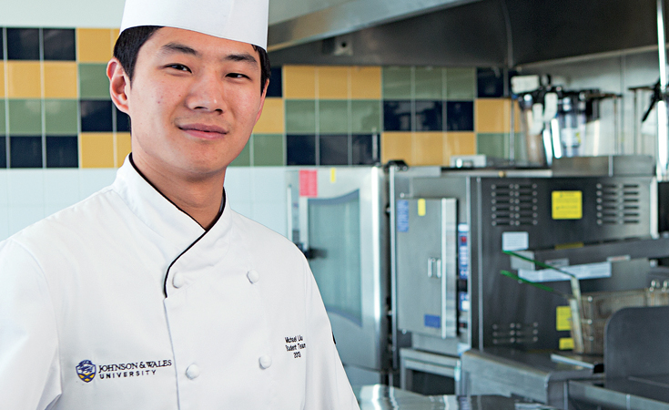 Michael Liu, Culinary Nutrition alum