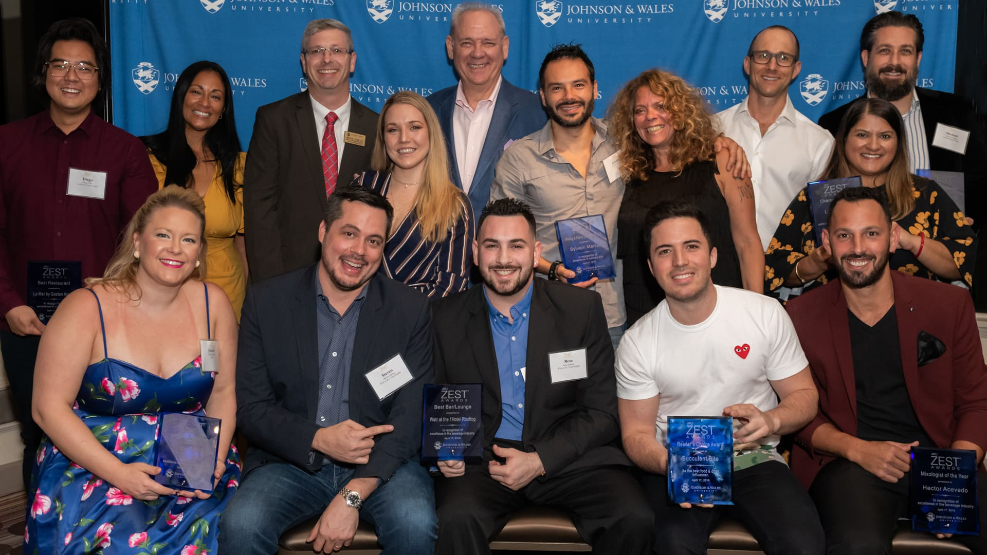 2019 JWU North Miami ZEST Award Winners