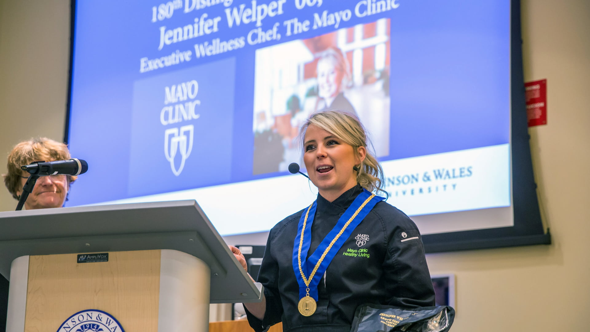 Jen Welper '06 of the Mayo Clinic